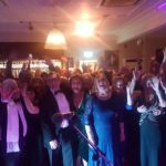 poulton peoples choir christmas party north shore golf club blackpool live music