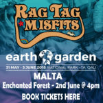 earth garden festival malta tickets camping enchanted forest